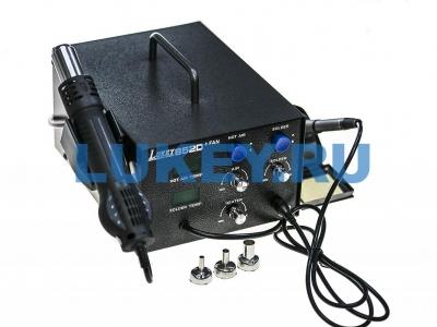 Термовоздушная паяльная станция Lukey 852D FAN - купить по низкой цене