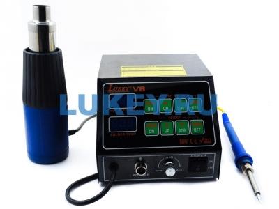 Термовоздушная паяльная станция Lukey V6 - купить по низкой цене