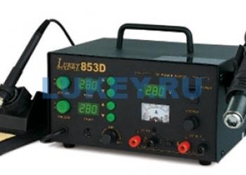 Руководство по эксплуатации (инструкция) для паяльной станции Lukey 853D
