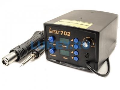 Термовоздушная паяльная станция Lukey 702 - купить по низкой цене